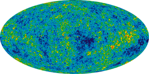 "Ilc 9yr moll4096"" von NASA / WMAP Science Team - http://map.gsfc.nasa.gov/media/121238/ilc_9yr_moll4096.png. Lizenziert unter Public domain über Wikimedia Commons."